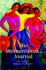 Claudette's Sisters Painting on the Cover of The Woman Speak Journal - 2010
