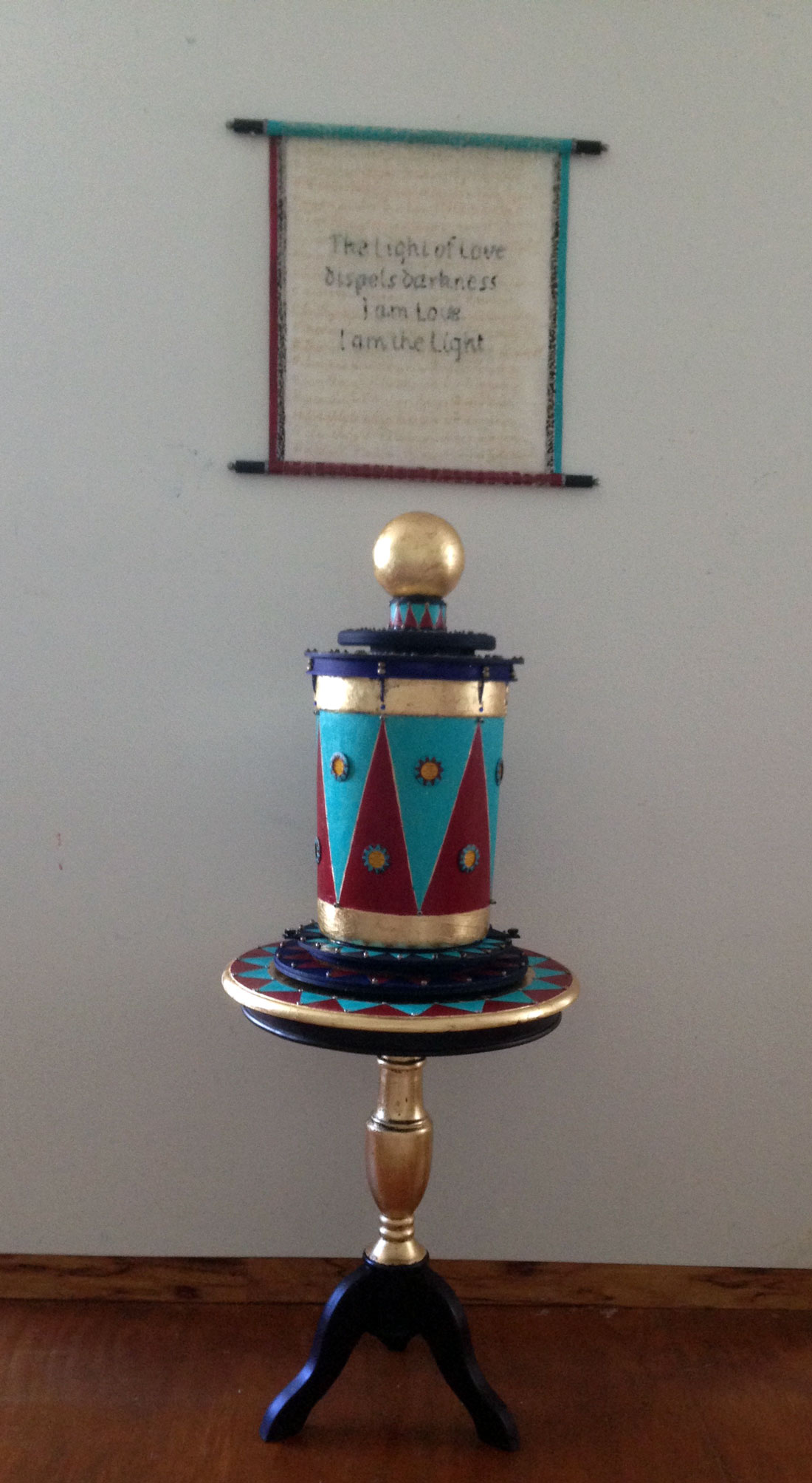 Prayer Wheel with Mantra (2017)
